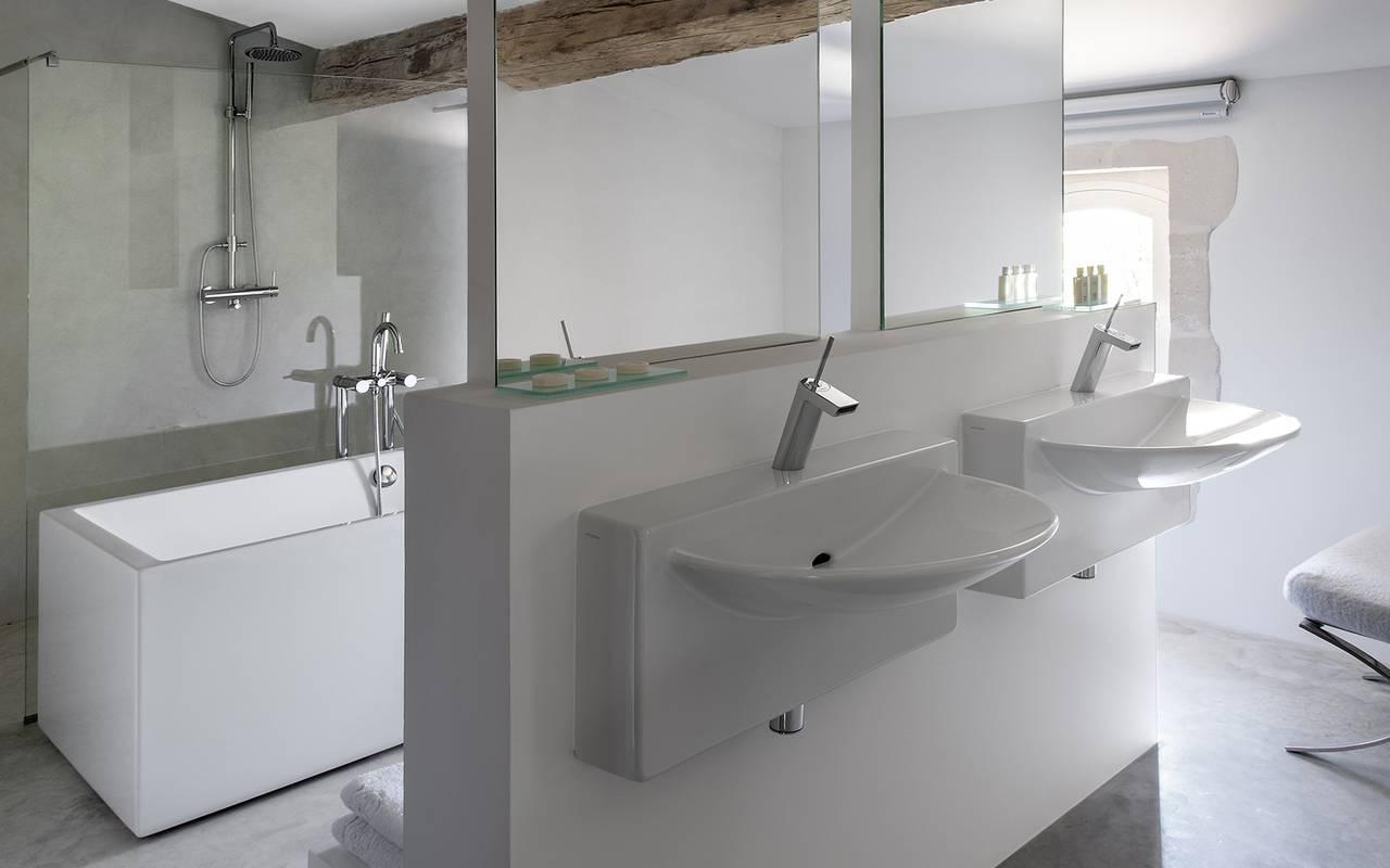 salle de bain le prieuré